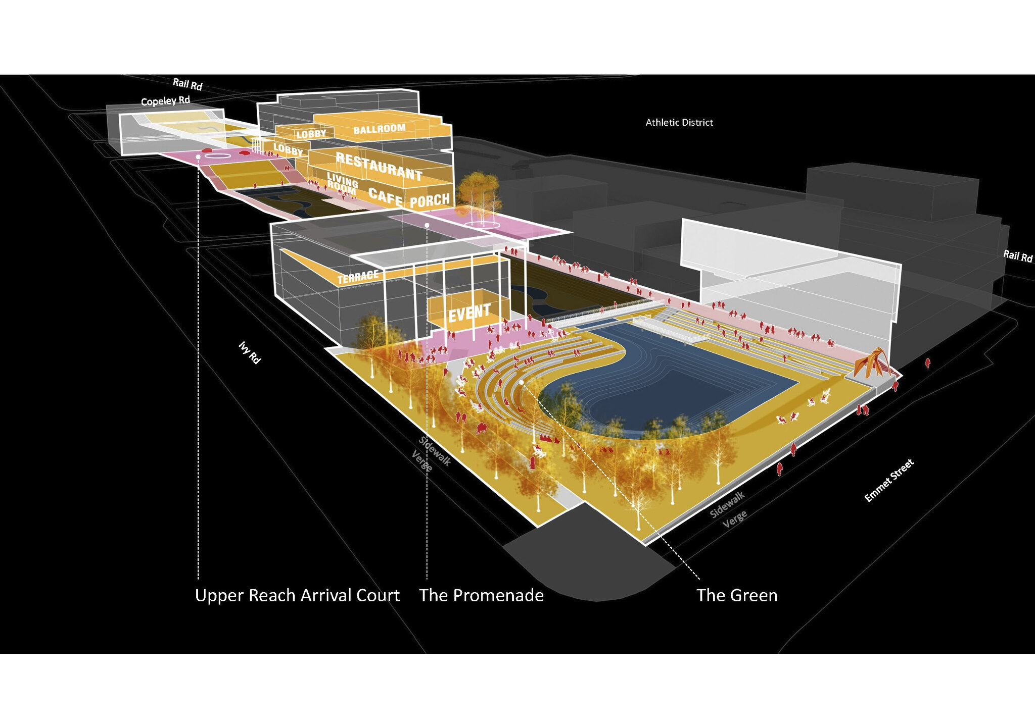 Layout design of the new building