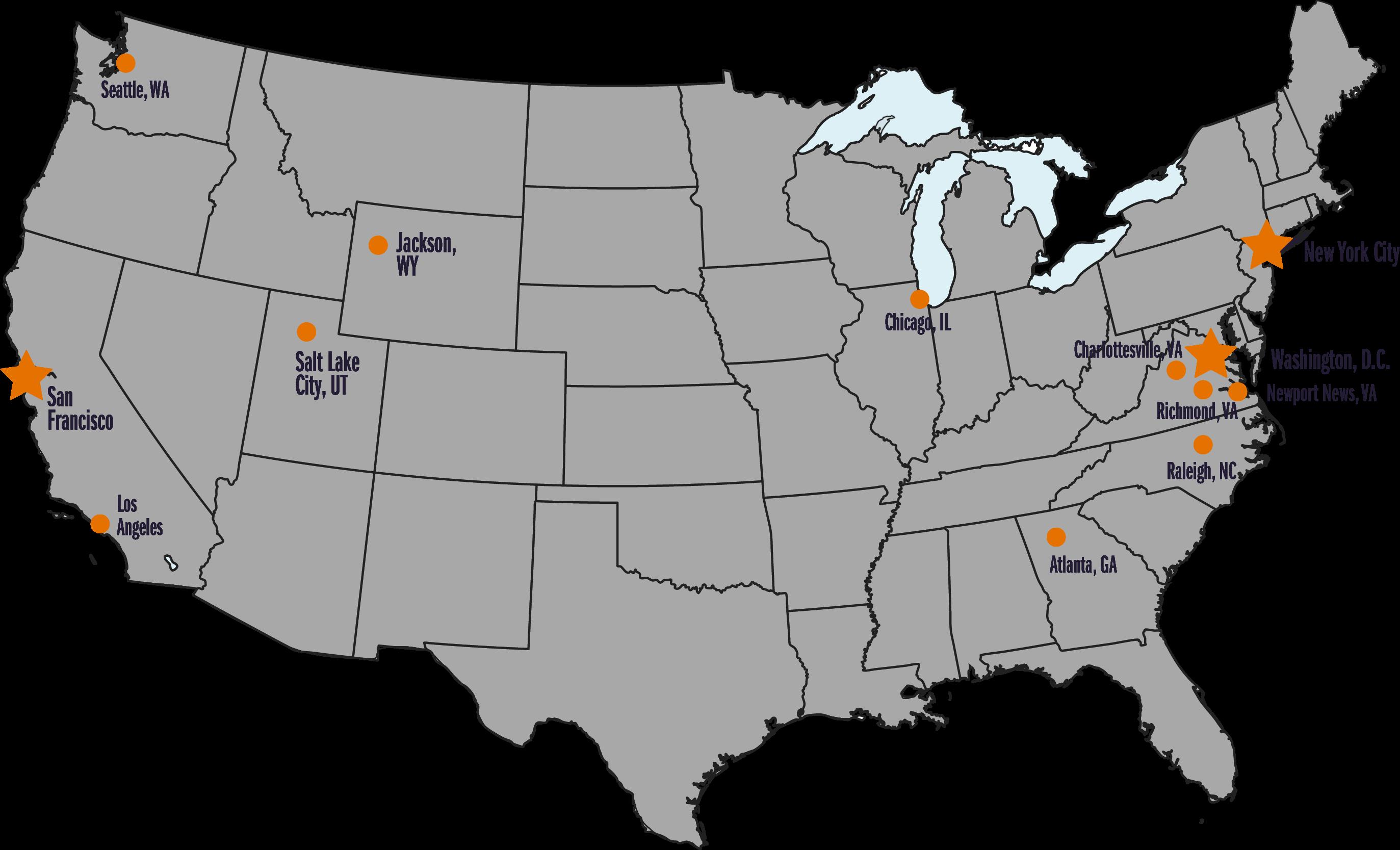 2016 Employment Map