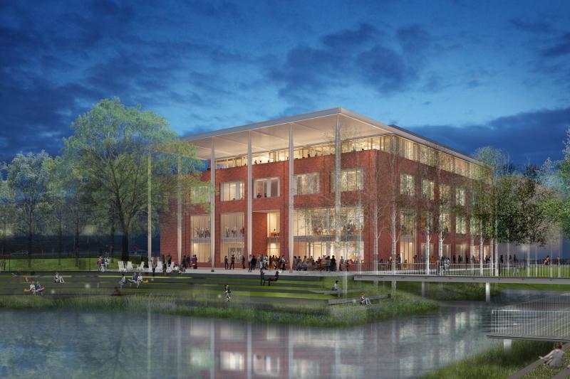 School of Data Science future home rendering