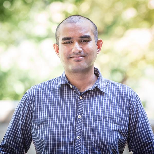 Headshot of Abhimanyu Roy