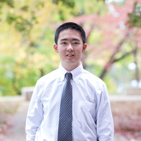 Headshot of James Xie