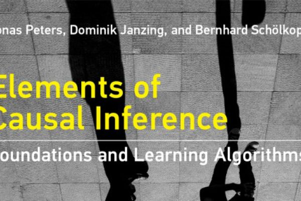 elements of causal inference book cover
