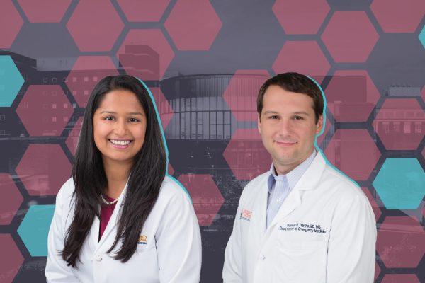 Dr. Sana Syed and Dr. Thomas Hartka