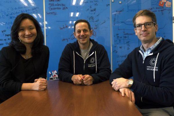 Vivian Wong, Ben Castleman, and Brian Wright
