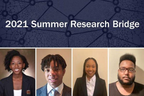 2021 Summer Research Bridge participants