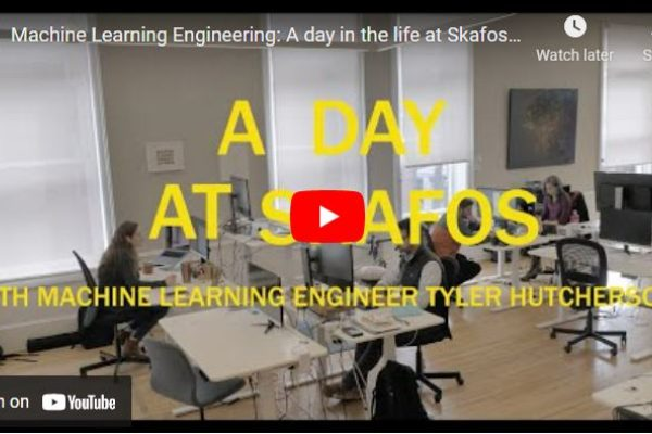 Day in the life video of a machine learning engineer
