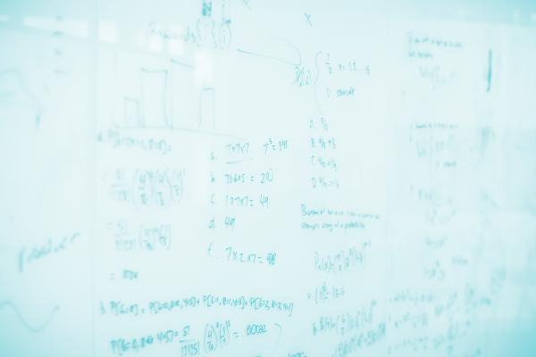 Math on whiteboard